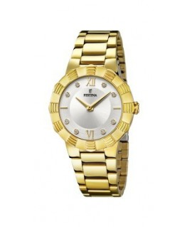 Reloj Festina de chica dorado