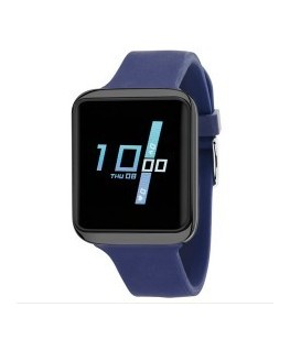 SMART WATCH SILICONE AZUL
