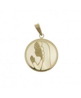 Colgante Medalla de Oro