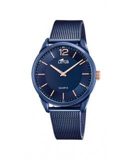 Reloj Lotus Acero Pavonado...
