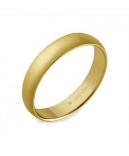 Alianza de boda oro media caña