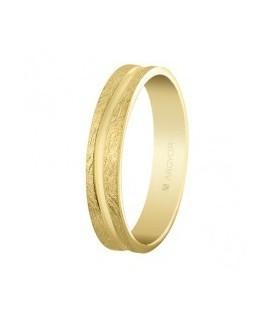 Alianza de boda oro 4mm