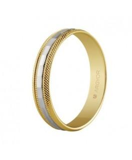 Alianza de boda 2 oros