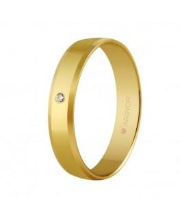 Alianza de boda de oro y...
